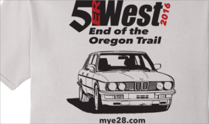 5erWest 2016 t-shirt teaser
